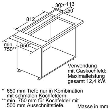 Neff AirDeluxe 300 Unterbauhaube / 88,00 cm / Unterbauesse / edelstahl -