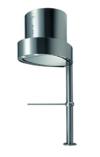 Vertikale Tischhaube der oberste Klasse/ * EEK A * / GALVAMET EGO 60/F INOX / 66 cm / 100 % MADE IN ITALY / ECHT LEISE / Dunstabzugshaube / INOX Design / ECOLED -