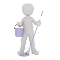 Der Metallfettfilter einer Dunstabzugshaube muss regelmäßig gereinigt werden