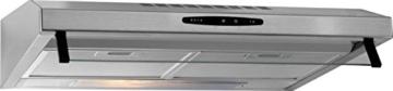 Bomann DU 623 ix Voll-Edelstahl-Dunstabzugshaube, 60 cm / Dunstabzugshaube / 60 cm /170.8 m3/h / Esse -